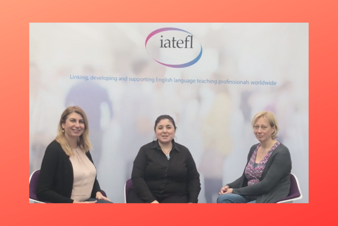 Anastasia Metallinou and Anne Margaret Smith, on inclusion, the TG Colloquium on SpLDs and more, at IATEFL Liverpool.
