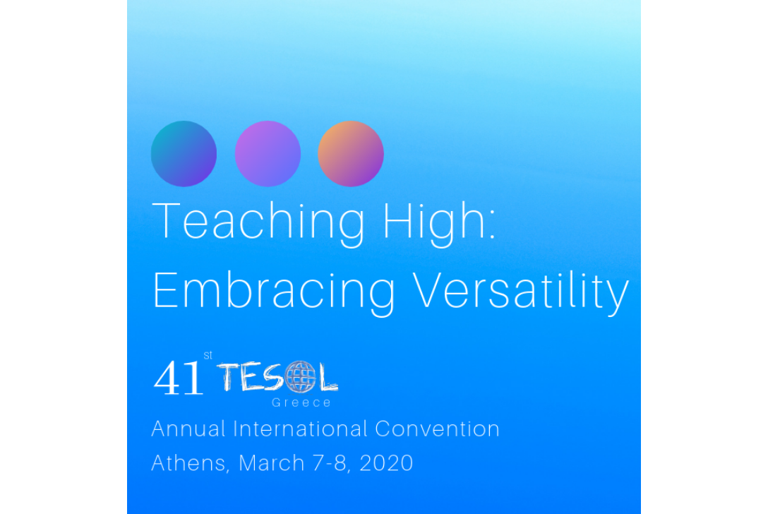 Call for Participation 41st TESOL Greece Annual International Convention