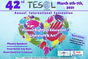 Stop Press: TESOL Greece 42nd Annual International Convention Goes Online