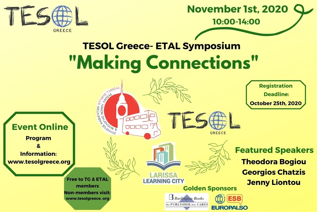 TESOL Greece – ETAL Symposium 'Making Connections'