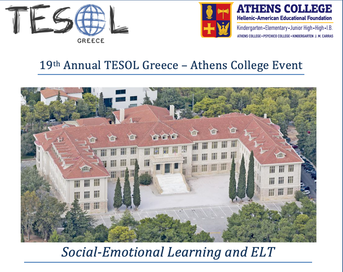 19th Annual TESOL Greece – Athens College Event