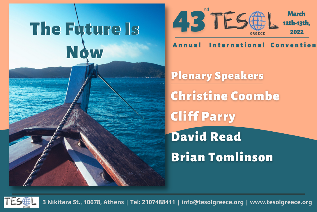 Call for Participation: 43rd TESOL Greece Annual International Convention